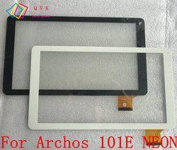 Noir Blanc 10.1 Pouce pour Archos 101E NÉON tablet pc panneau de l'écran tactile Digitizer capteur En Verre de remplacement