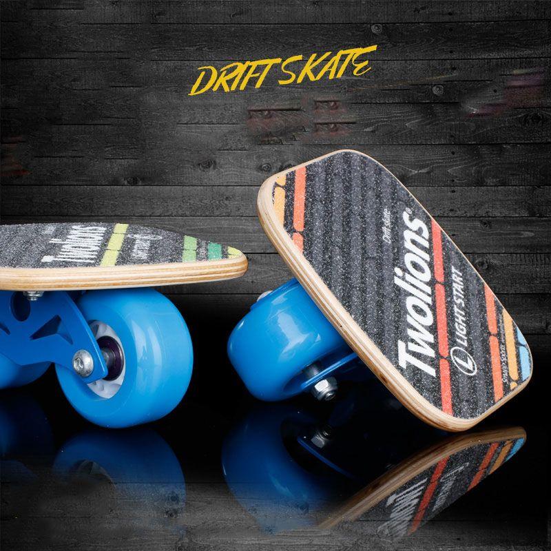 Twolions Holz Drift Bord Für Freeline Roller Road Drift Skates Antislip Skateboard Deck Freeline Skates Wakeboard Kostenloser Versand