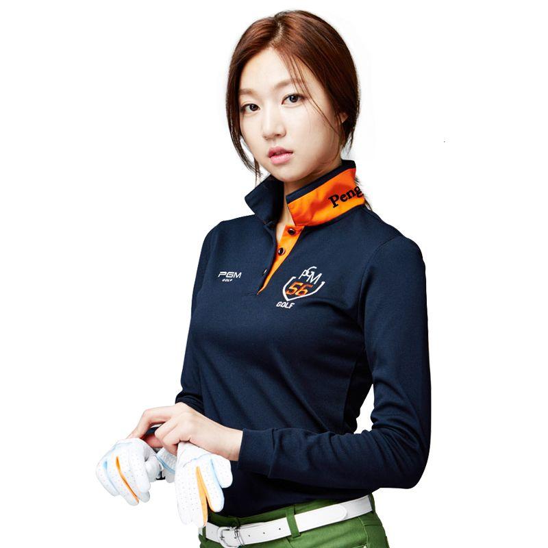 PGM Marke Kleidung Frauen Top Polo Langarm-shirt Tennis T-shirt Dry Fit Ropa De Golf Polera Hombre Sportbekleidung Femme Bekleidung Neue