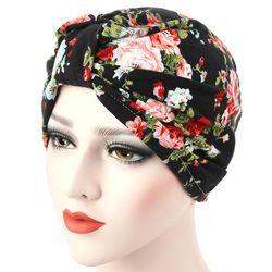 Femmes Musulman chapeaux Chapeaux Pour Dames Cheveux Wrap Bonnet Chapeau Turban Head Wrap Cap Chimio Foulards