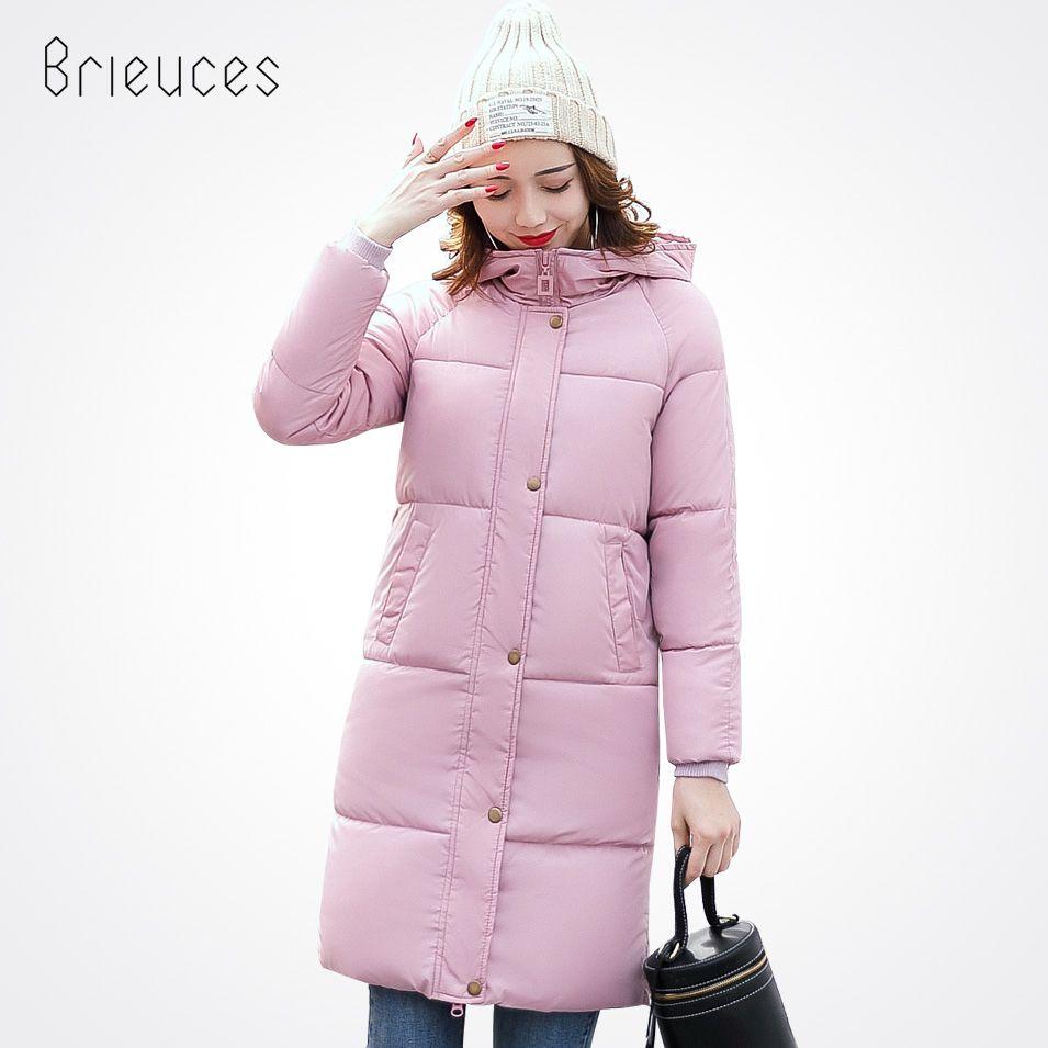 Beieuces 2017 warm Winter Jacket Women Hooded plus size Thicken long Parkas Outwear Bread Loose Style warm Winter Coat women