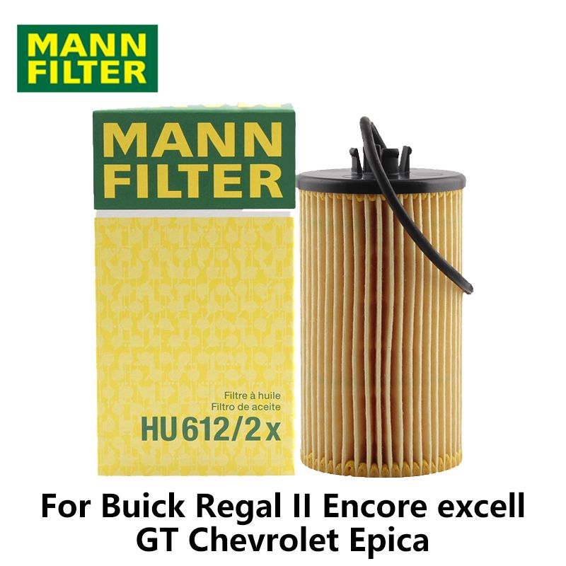 MANN FILTER Car Oil Filter For Buick Regal II Encore excell GT Chevrolet Epica HU612/2x auto parts
