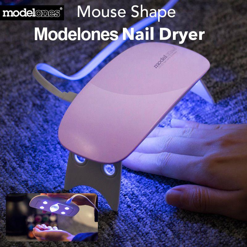 Modelones sunmini 6 Вт UV LED лампы для ногтей сушилка Портативный USB кабель для премьер подарок дома Применение гель Лаки для ногтей барабан мини USB лам...