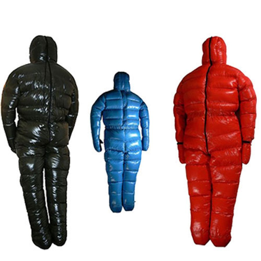 90% White goose down filling 3000g antarctic arctic expedition special use down jacket winter goose down suit