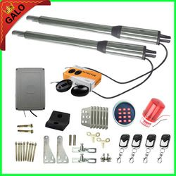 Galo AC 110V/220V Electric Linear Actuator 300kgs Engine Motor System Automatic Swing Gate Opener + 4 remote control