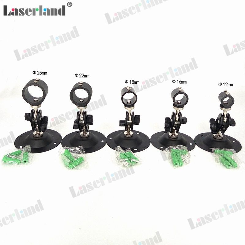 12mm/16mm/18mm/22mm/25mm Adjusable Laser Holder/Clamp/Mount/Heatsink for Laser Diode Module/Pointer/Torch