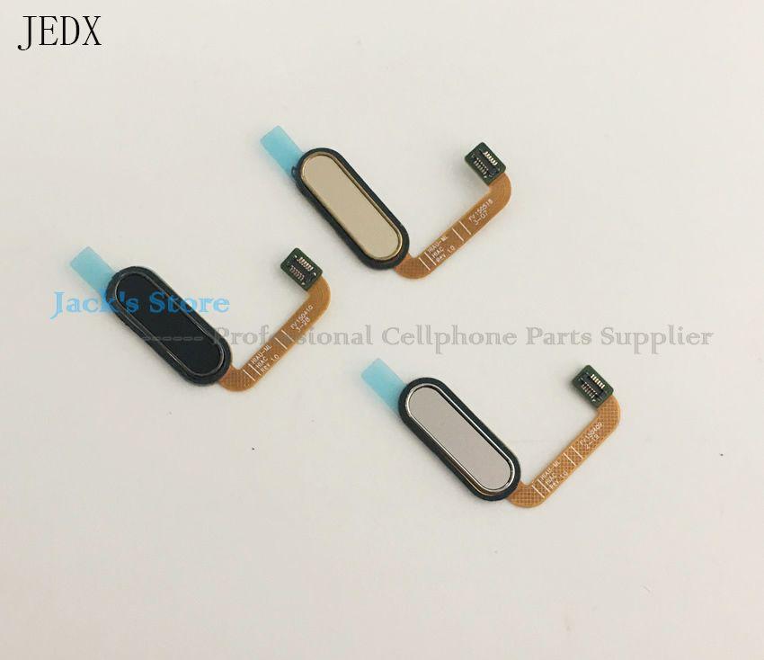 JEDX Original For HTC One M9+ M9 Plus Fingerprint Sensor Scanner Flex Home Button Phone Return Back Keypads