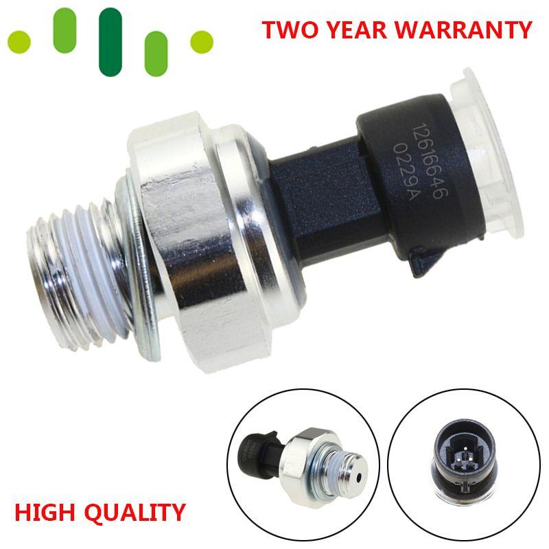 D1846A 12616646 capteur de pression d'huile interrupteur d'expéditeur pour Buick Chevy Chevrolet Trailblazer Tahoe GMC 4.8L 5.3L 6.0L 5.7L 6.2L 8.1L