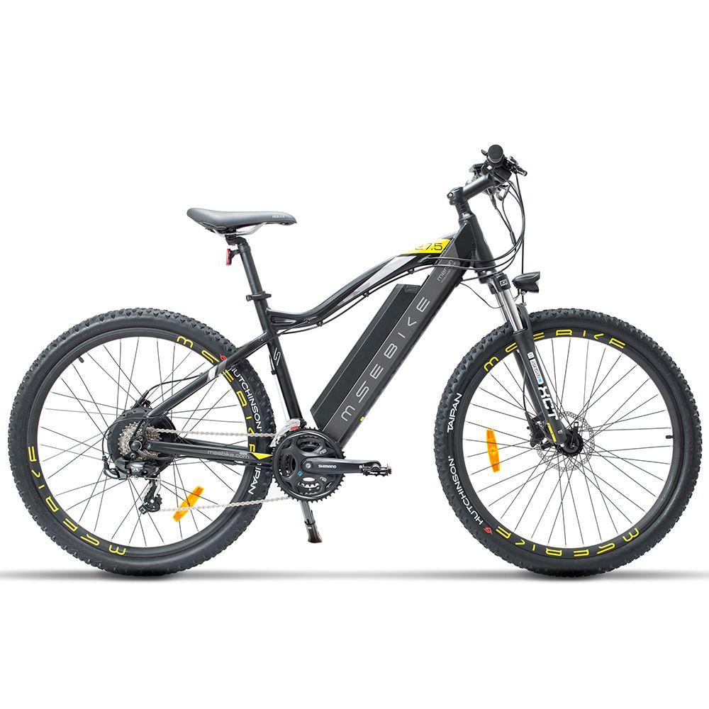 27,5 Zoll E Bike, 400W 48V 13Ah Mountainbike, 5 Ebene Pedal Unterstützen, suspension Gabel, Öl Disc Bremse, Leistungsstarke Elektrische Fahrrad