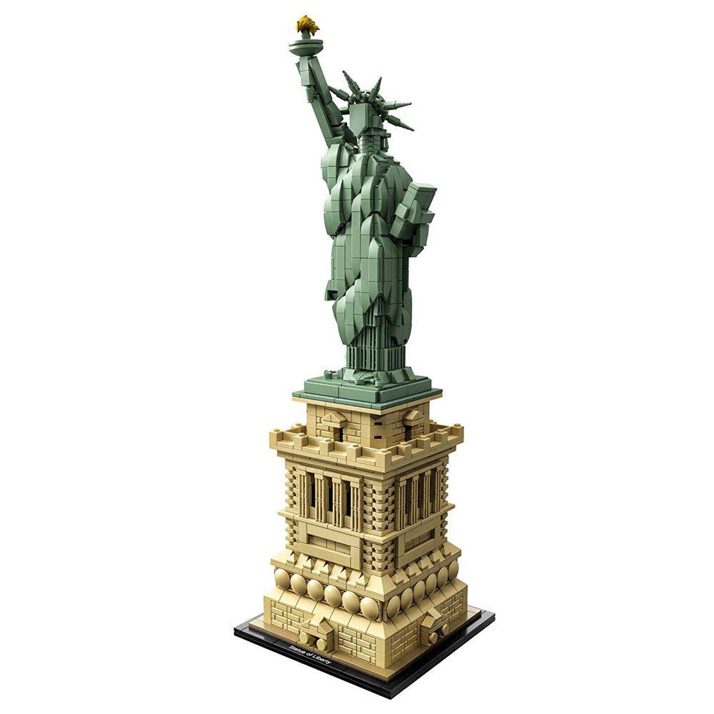 Architecture Statue of Liberty New york Skyline Building Blocks Kit Bricks Sets Classic City Model Kids Toys Compatible Legoe