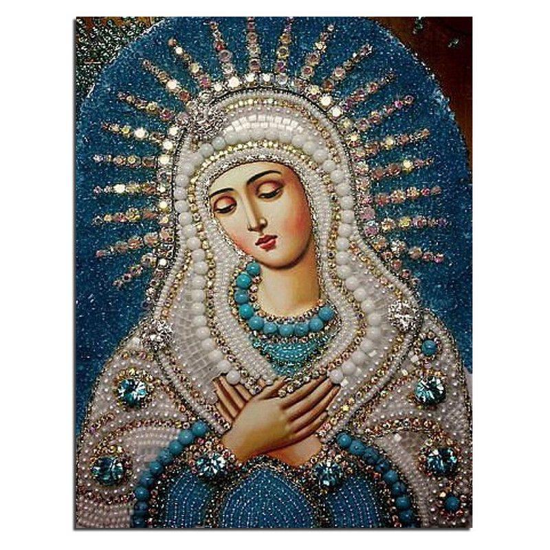5D diy diamond painting cross stitch 3d diamond embroidery kits diamond mosaic religious Picture rhinestones embroidery gift