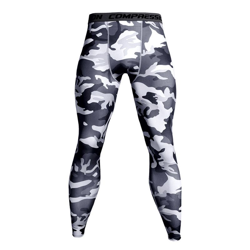 Compression Pants Running Tights Men Training Fitness Sports Leggings Gym Jogging Trousers Male Sportswear Yoga Workout Bottoms