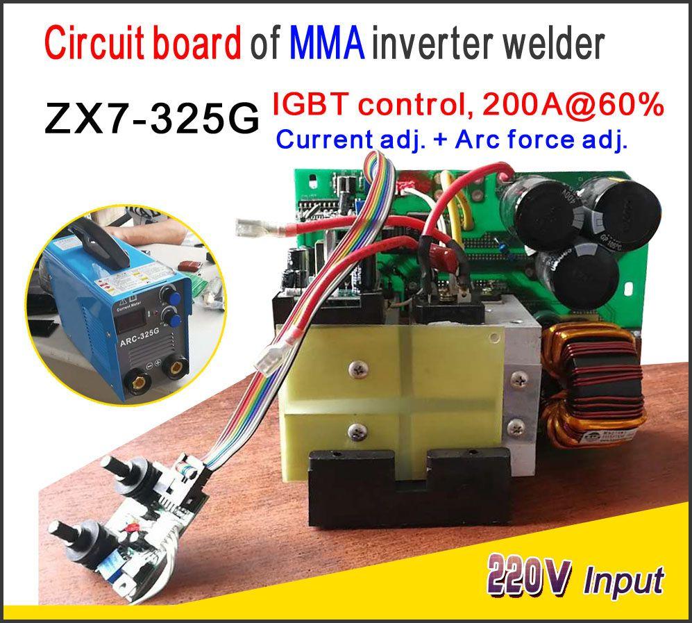 ZX7 315 IGBT Control PCB Single board for mma welding machine , IGBT control ,AC220V power input