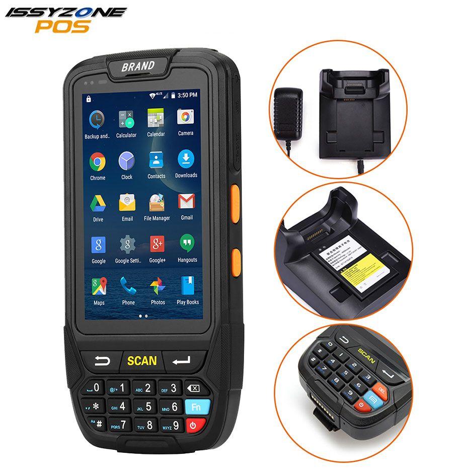 ISSYZONEPOS Tragbare Android 1D 2D Barcode Scanner Handheld PDA Drahtlose Daten Sammler Terminal Bluetooth für Brasilien markt
