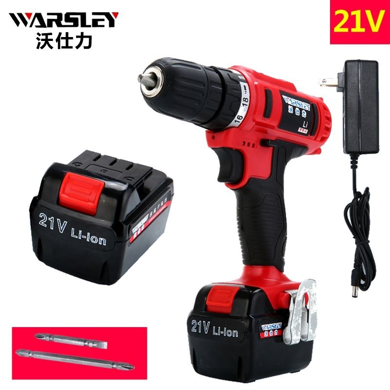 21v Electric screwdriver battery Electric Cordless Drill power tools Like perceuse sans fil Electric Tools Mini Drill Europlug