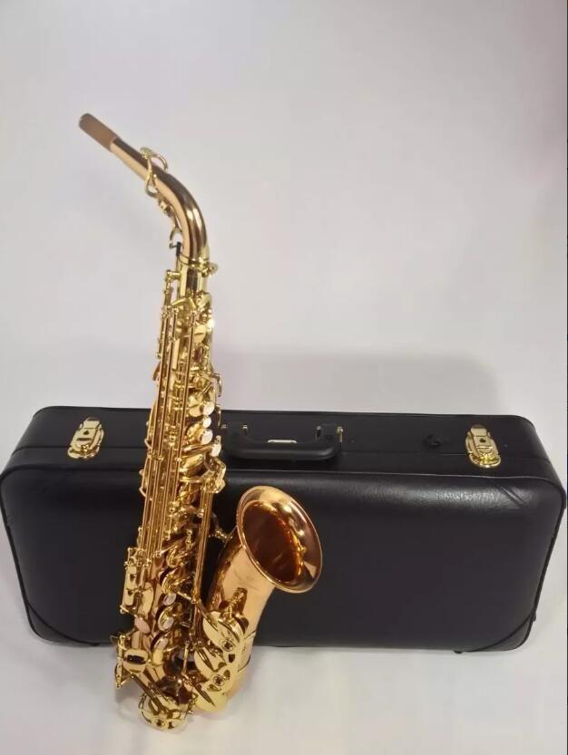 Saxphone Alto Янагисава A-WO1 992 Бронзовый Золотой лак Сделано в Японии профессионального Медные инструменты Музыка Alto saxofone бемоль