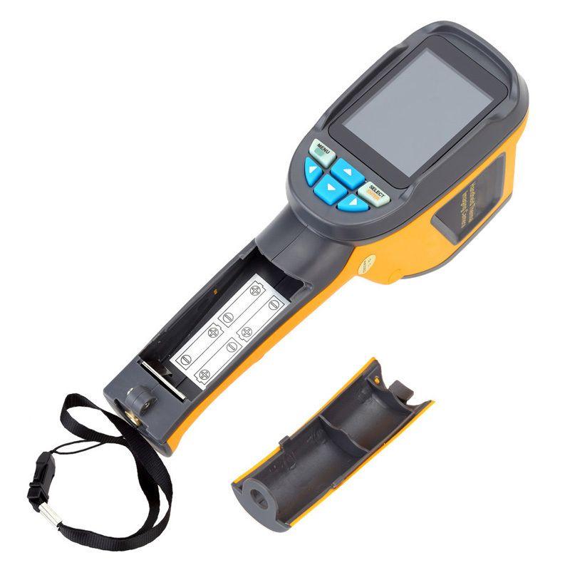 Blitz Lieferung aus LAGER Handheld Thermische Imaging Kamera HT-02D Serie Tragbare Thermische Imager Auflösung 32x32 1024 Pixel