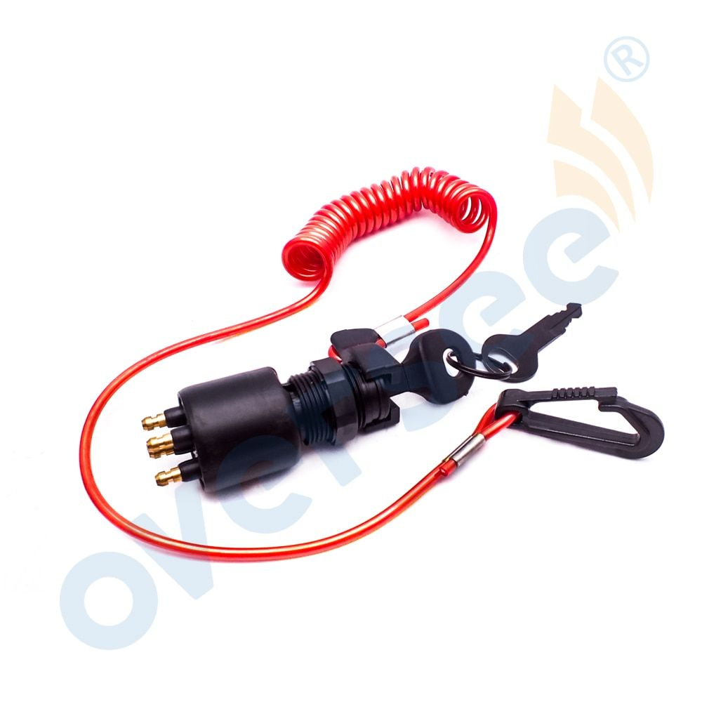 Outboard Ignition Switch 175974 5005801 For OMC Johnson Evinrude Outboard Motor 40 50 55 65 125 150 200HP