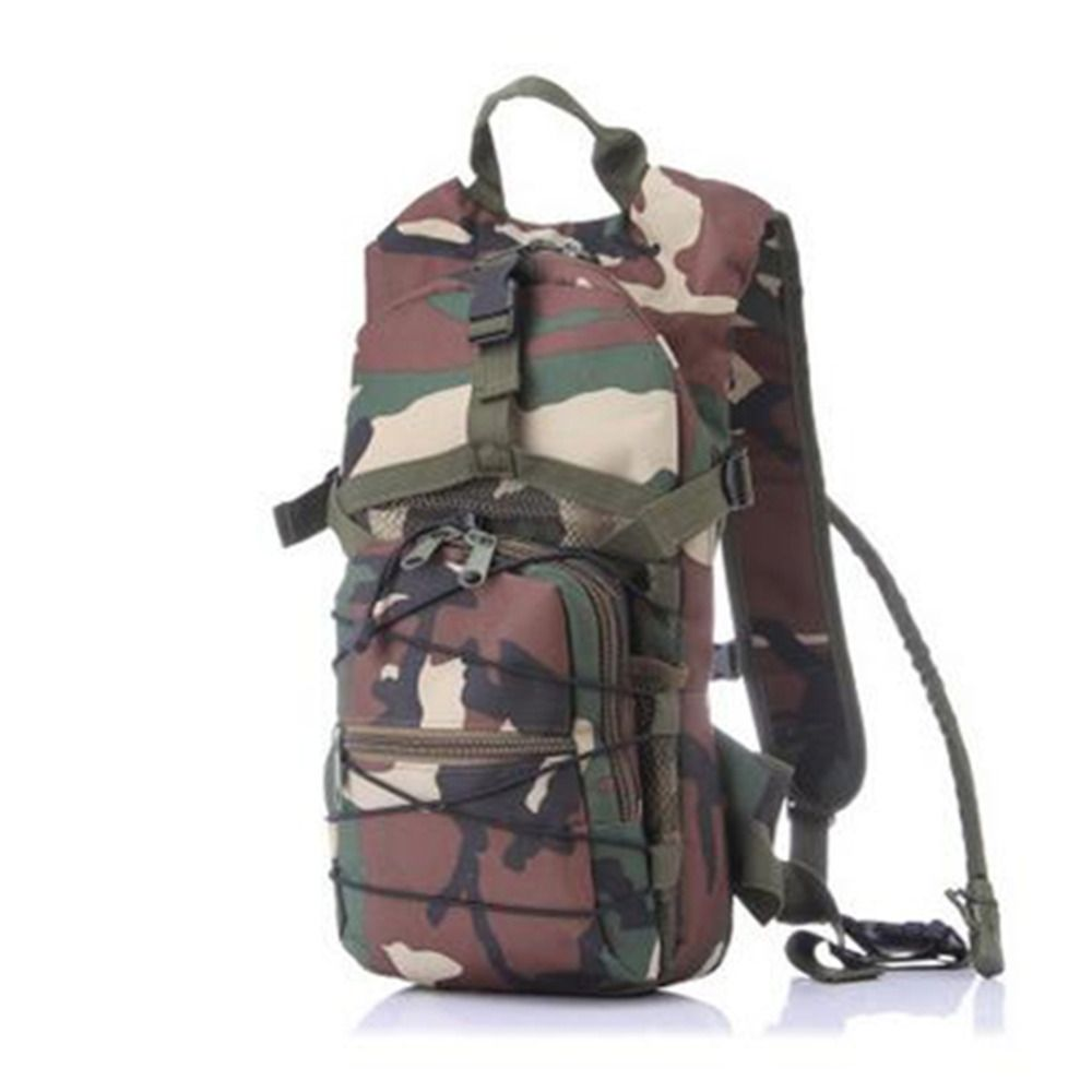 New large-capacity outdoor sports water bag backpack zero burden riding backpack multi-functional camouflage bag