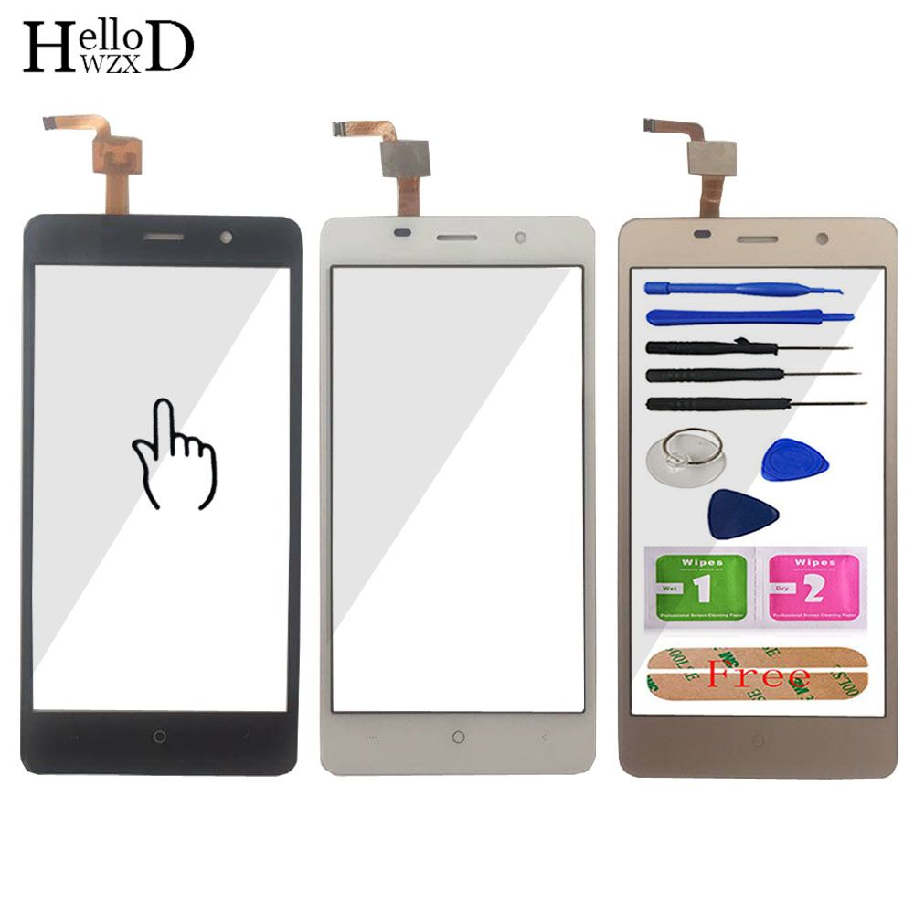 5.0'' Touch Panel For Leagoo M5 Touch Screen Digitizer Panel Repair Parts Touchscreen Front Glass Lens Sensor Free Adhesive Gift