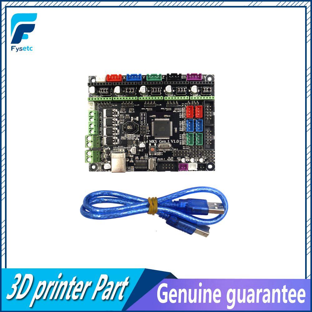 Gen-L V1.0 Integrated Mainboard Gen L v1.0 Compatible Ramps1.4/Mega2560 R3 For TEVO Tarantula & Tornado 3D Printer