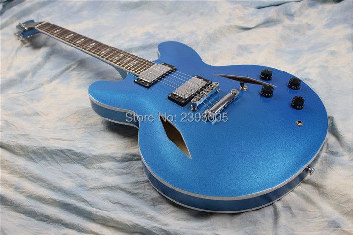 New arrival Custom shop Dave Grohl electric guitar ,semi hollow body. ES 335 Jazz guitar,hollow electric guitar,DG 335 veison