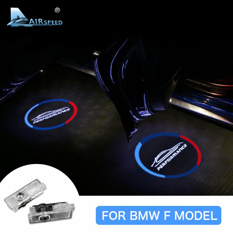 Airspeed Car LED Laser Light Door Logo Light Welcome Ghost Shadow Light for BMW F20 F21 F30 F31 F34 F32 F10 F07 F01 Accessories