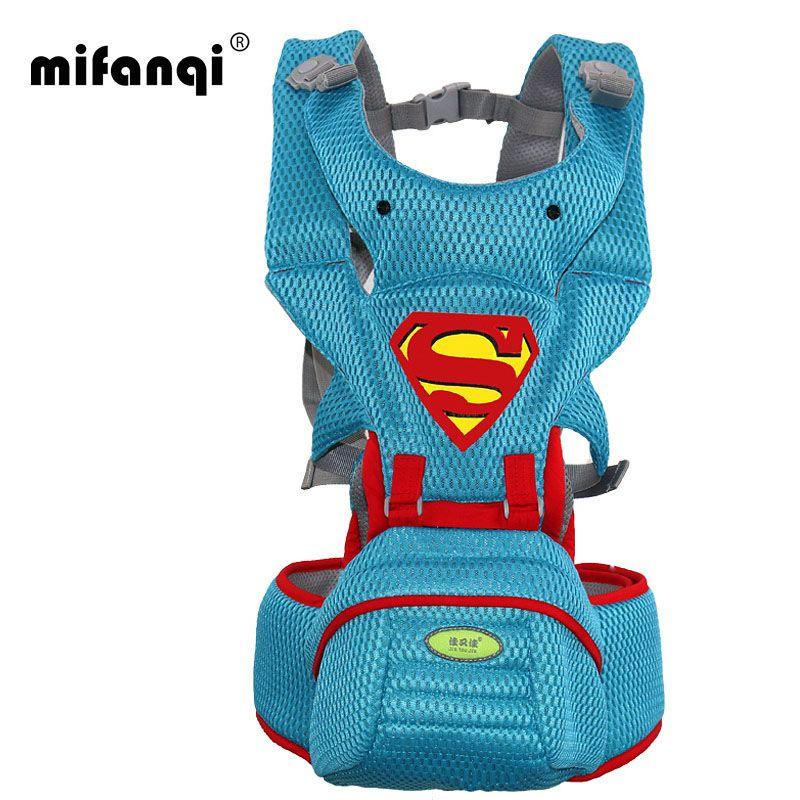 Новинка 2017 года Модная одежда для детей, Детская мода Carrier Hipseat рюкзак ребенка эргономичный Перевозчик 360 многофункциональный ребенка Обёрт...