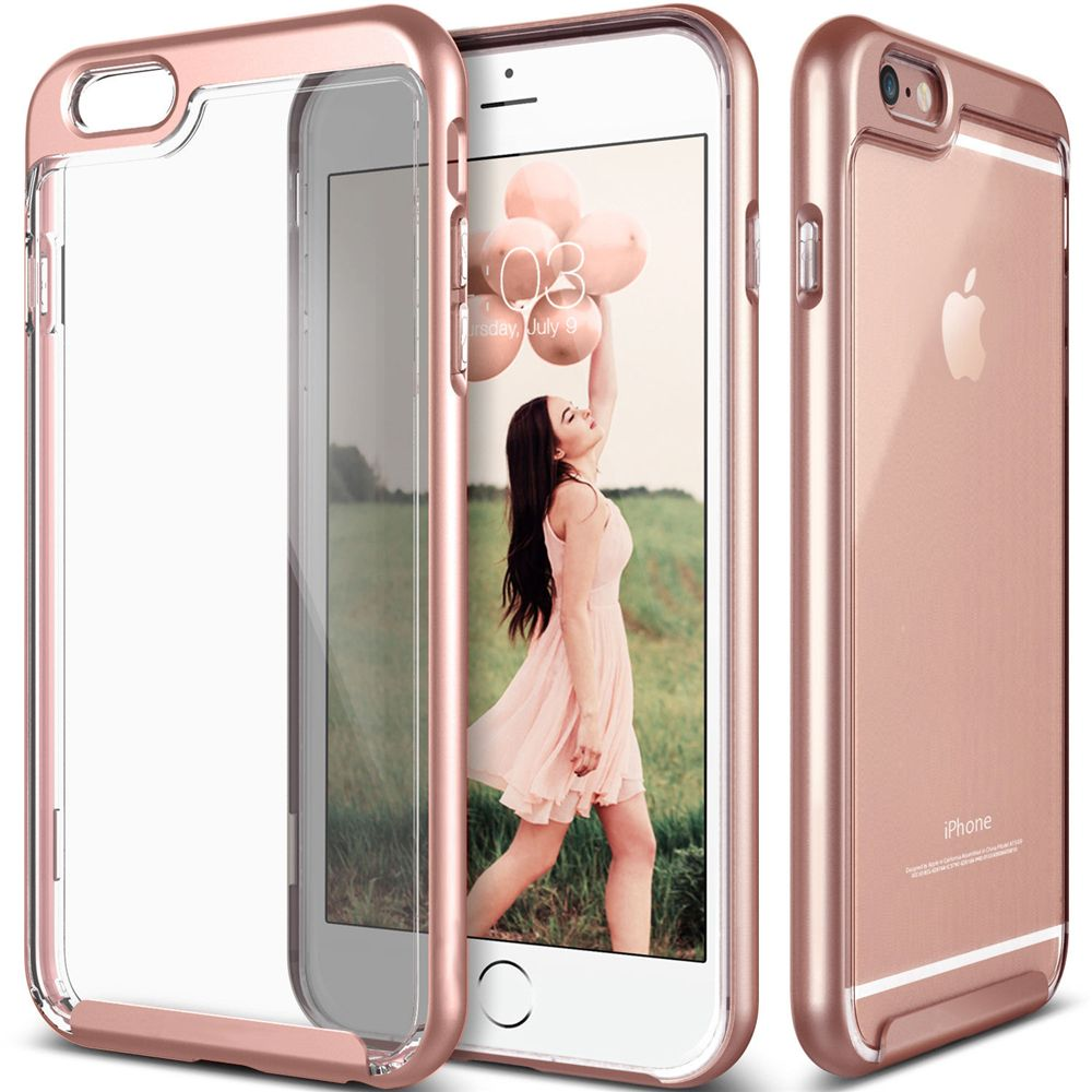 2in1 Armor Phone Case for Apple iPhone 6 6s 7 Plus Dual Layer Transparent Clear Back Cover Coque Fundas Shockproof Protect Shell