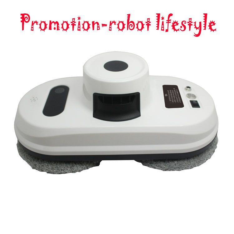 (Ship From Russian Warehouse)Remote control wet and dry robot window cleaner, window cleaning robot,glass cleaner robot