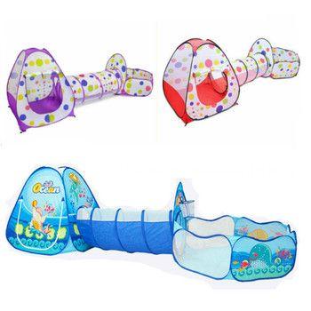 Многоцветная детская палатка для детей складной детская игрушка пластиковая дом игры Piscina de bolinha играть Надувные палатки двор Пул