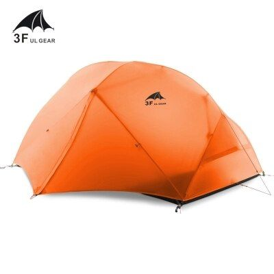 3F outdoor Piaoyun2 2 person 15D silicon coated four season double layer camping tent