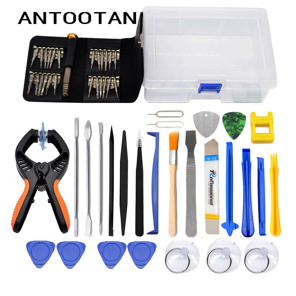 Pince d'ouverture d'écran de téléphone portable Kit d'outils de réparation tournevis levier démonter ensemble d'outils pour iPhone Samsung iPad