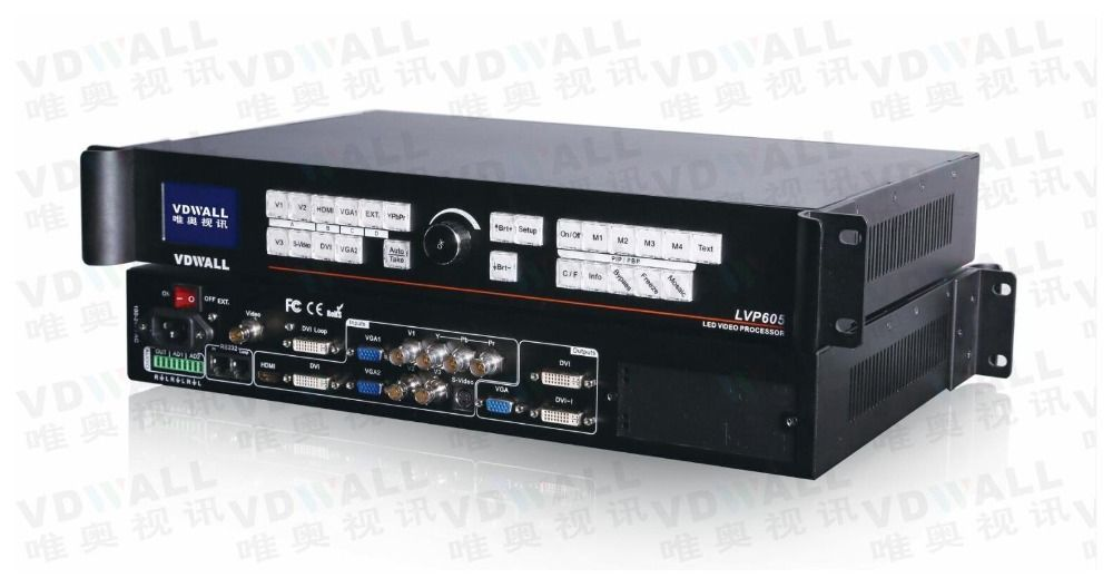 VDWALL LVP605S video processor for full color RGB LED display support ts802 msd300 IT7(lvp615 hot sale)