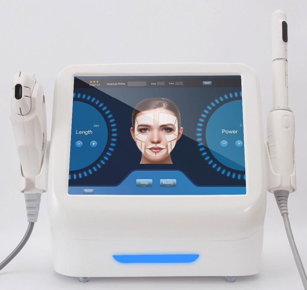 2018 neueste tech 2 in 1 hifu vaginalen verschärfung maschine + hautstraffung gesicht hebe maschine