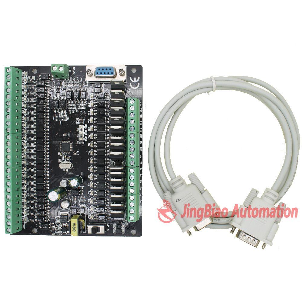 CF2N FX2N 40MT RS485 programmable logic controller 24 input 16 Transistors output plc controller automation controls plc system