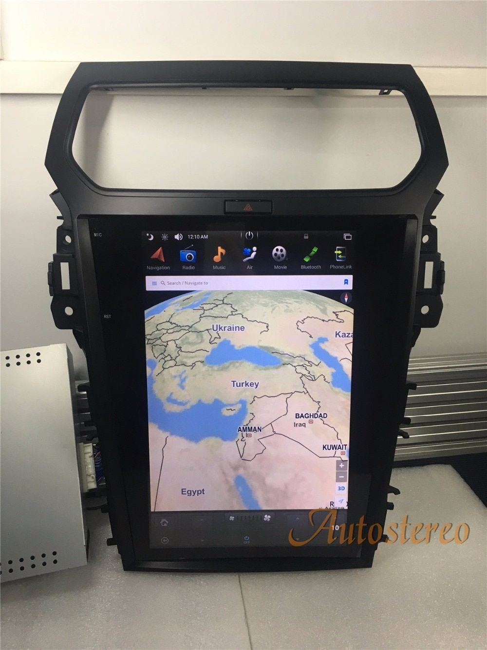Tesla stil Android Auto DVD Player GPS Navigation Für Ford Explorer 2011 2012 2013 2015 2016 auto stereo multimedia audio auto Pad