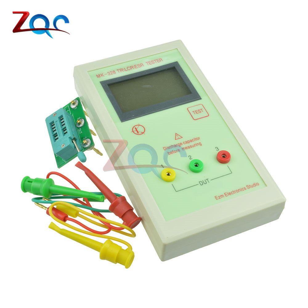 MK-328 ESR Meter Tester Transistor Inductance Capacitance Resistance LCR TEST MOS/PNP/NPN Automatic Detection