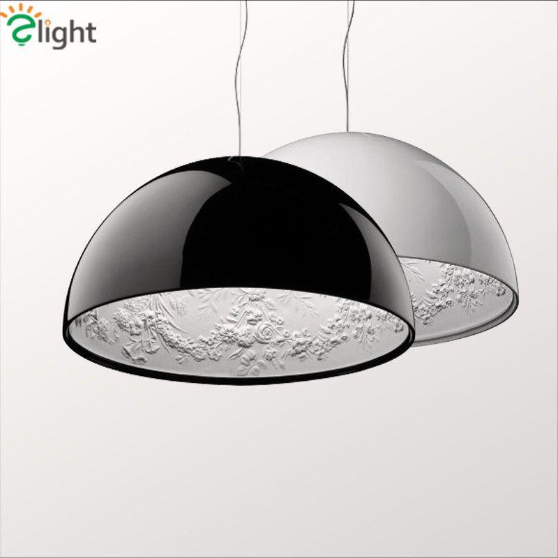 Dia60cm современный блеск Skygarden E27 LED Открытый Подвесные Светильники Luminaria минимализм Lamparas приостановить лампы Крытый висит светильники