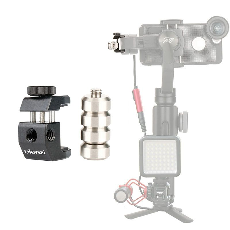 Ulanzi PT-4 Counterweight for Moment Lens, Universal Counter weight Gimbal Accessories for zhiyun smooth 4 DJI Osmo mobile 2