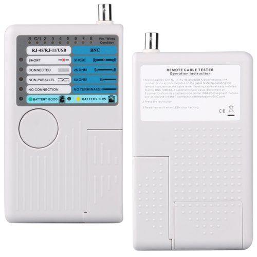 PROMOTION! 4 in 1 RJ11 RJ45 USB LAN Ethernet Network Phone Cable Tester