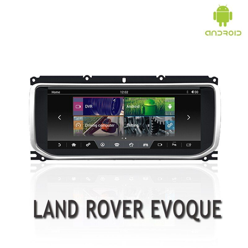 NVTECH Multimedia Navigation GPS Für RANGE ROVER EVOQUE Dashboard Android 7.1 Bluetooth RAM + ROM 2 + 32 GB Player 10,25 ''2012-2016