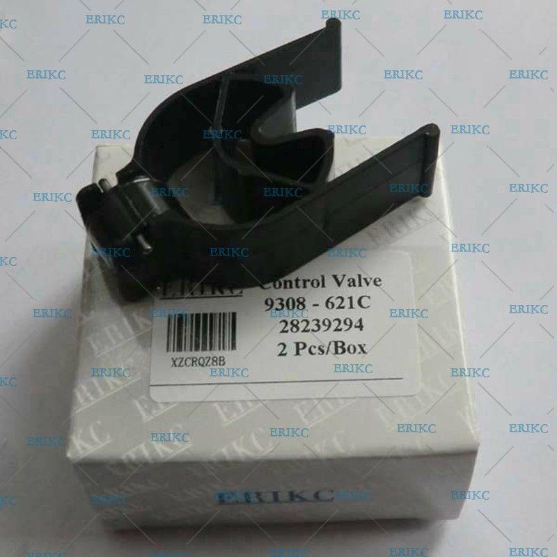 ERIKC Noir Diamant-comme Revêtement De Carbone 28239294 28440421 9308-621C 9308z621c Injecteur de Carburant à Rampe Commune Soupape De Commande pour Delphi