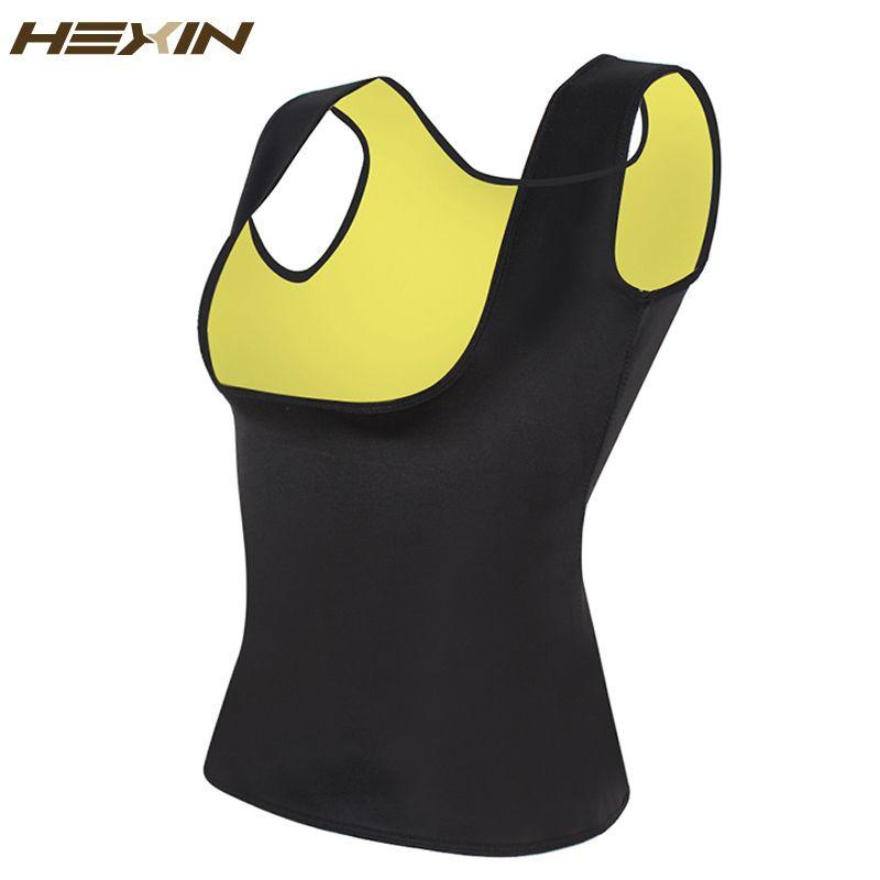 HEXIN néoprène gilet taille formateur Fajas sueur corps Shaper minceur Shapewear débardeur d'entraînement Corset sous le buste taille formateur 6XL