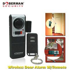 Doberman Keamanan Rumah Sistem Keamanan Alarm dengan Satu Remote Kontrol Nirkabel Alarm untuk Rumah Magnetic Pintu Sensor Detector