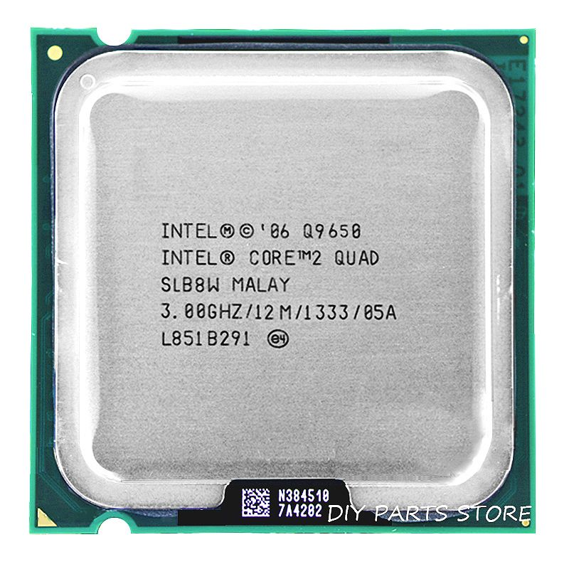 INTEL Core 2 Quad CPU Q9650 intel core 2 quad-core Processor 3.0Ghz/12M /1333GHz) Socket LGA 775