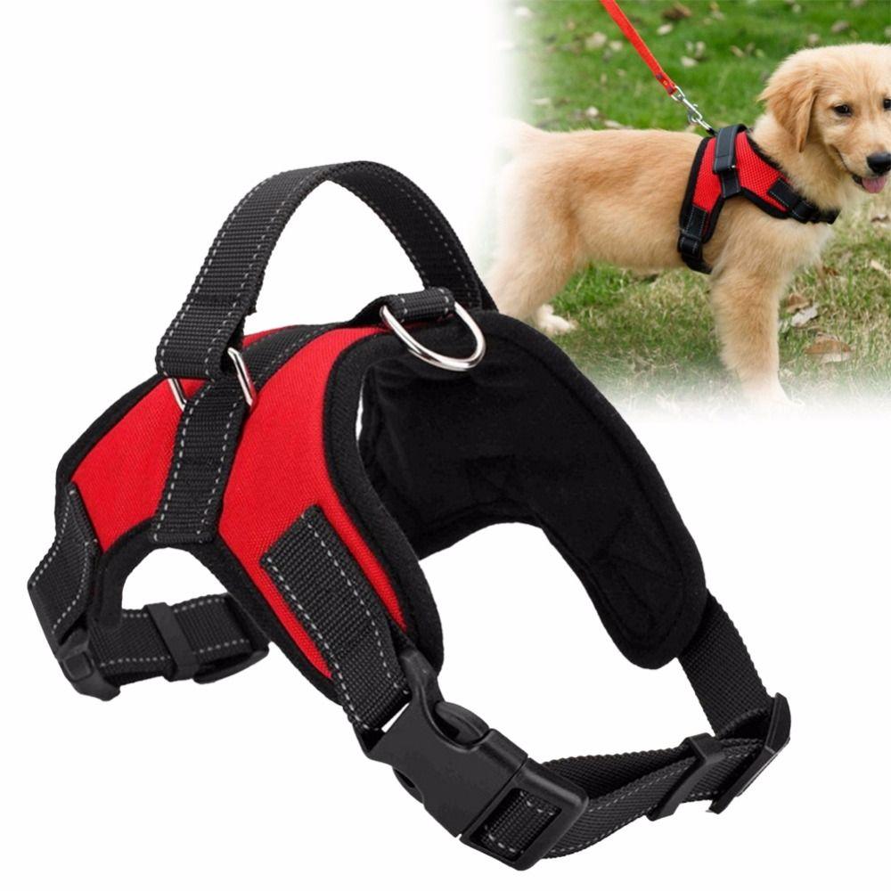 Einstellbare Haustier Welpen Große Hundegeschirr für Small Medium Large Hunde Tiere Pet Gehen Hand Strap Hund Liefert 3 Farben