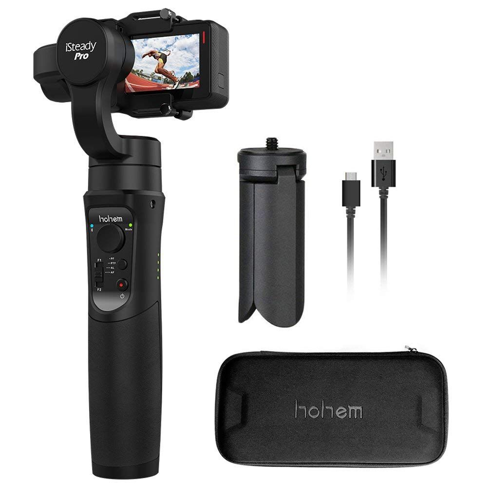 Hohem iSteady Pro 3-axis Handheld Gimbal Stabilizer for Gopro Hero 2018 6/5/4/3+/3 Yi Cam 4K AEE SJCAM Sports Cams Action Camera