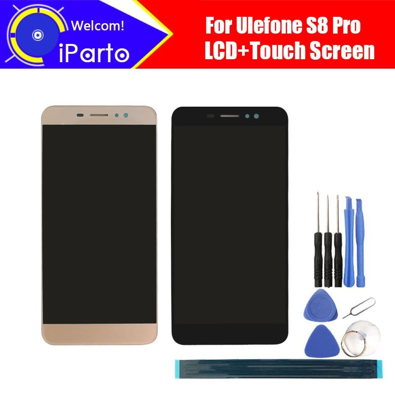 5.3 inch <font><b>Ulefone</b></font> S8 Pro LCD Display+Touch Screen Digitizer Assembly 100% Original New LCD+Touch Digitizer for S8 Pro.