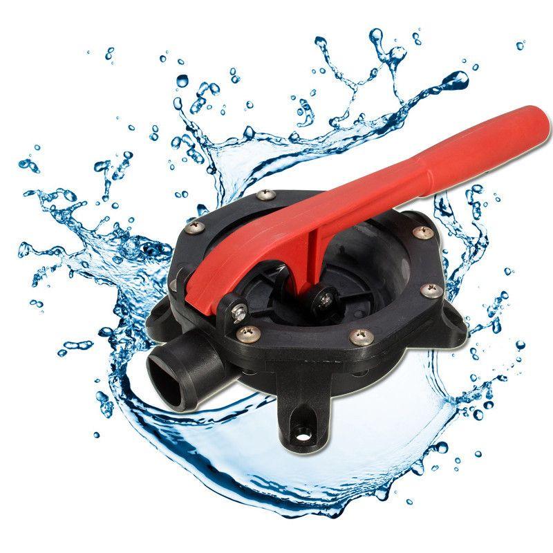 Best Promotion SFDHP-G720-01 12 V 720GPH Plastic Diaphragm Manual Hand Bilge Water Pump Designed For Confirm Spaces